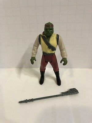 Star Wars Barada Kenner Vintage Potf 1985 Complete Jabba The Hutt Sarlac R2 D2