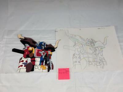 TRANSFORMERS JAPANESE BEAST WARS NEO BIG CONVOY ANIMATION ART CELL cel LOT 192