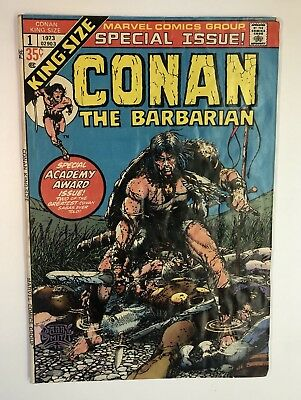Conan The Barbarian King-Size #1 Special Issue Marvel Comics Free Shipping