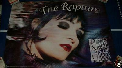 Siouxsie And The Banshees The Rapture Poster 1995 Vintage 1990's