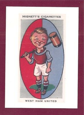 WEST HAM UNITED FC WHU New Postcard The IRONS The HAMMERS Boleyn Ground Upton