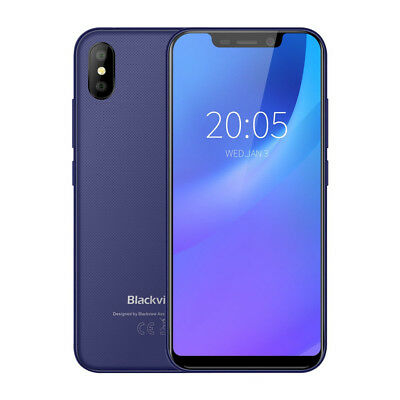 """Blackview A30 5.5"""" 3G Smartphone Android 8.1 Oreo 2GB+16GB Face ID Dual SIM GPS"""