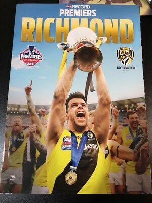 2017 AFL Premiers Premiership Magazine Book Souvenir Richmond Tigers