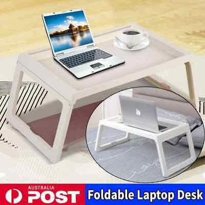 Adjustable Foldable Table Laptop Tray Bed Portable Desk TV Dinner Mate Office AU