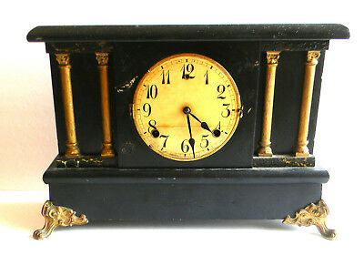 Antique Wm. L. Gilbert Clock Co. Mantel Clock The Gilbert No. 2278
