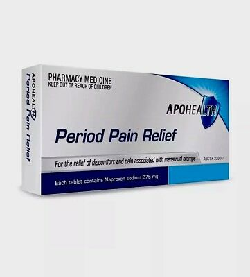 Apohealth Period Pain Relief 275Mg 24 Tablets Same As Naprogesic