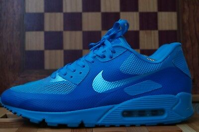 best cheap 5b186 77e12 Schuhe Nike Air Max 90 Hyperfuse Premium Blue Glow US11   EUR 45