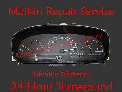 96-00 Chrysler Town and Country Instrument Gauge Cluster Display REPAIR SERVICE
