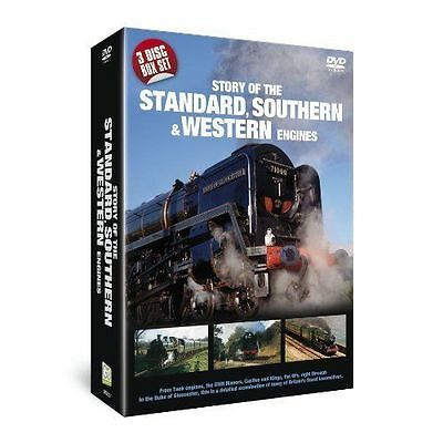 Story of The Standard Southern & Western Engines (New 3 DVD set) Steam Railways