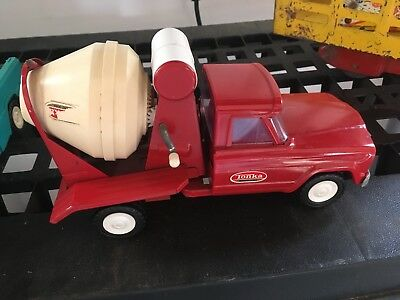 Tonka Cement Mixer Structo Pressed Steel Vintage Toy Truck Antique Mint