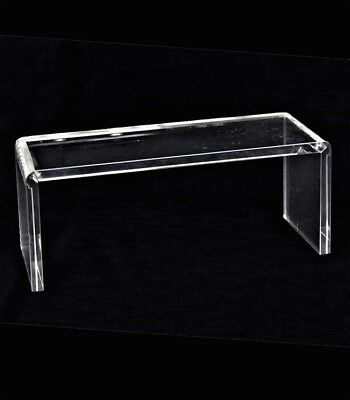 Heavy Duty Clear Acrylic Riser Display Jewelry Showcase Fixtures Displays 1100