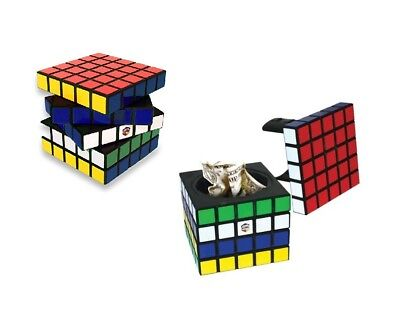 Rubik's Cube Stash Safe Can Hidden Diversion Secret Hiding Car Bottle Safes