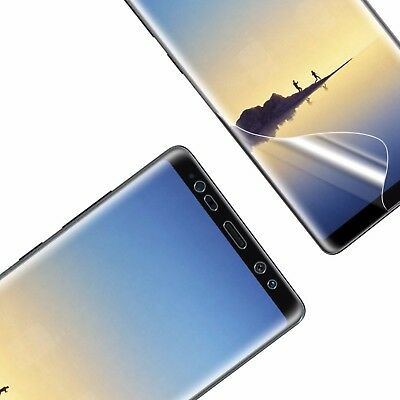 2pcs Full Screen Protector for Samsung Galaxy Note 9 Clear TPU Film Saver Guard