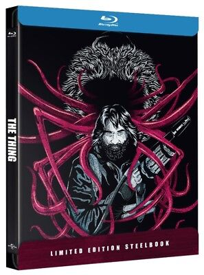 The Thing (1982) Limited Edition Steelbook Blu Ray