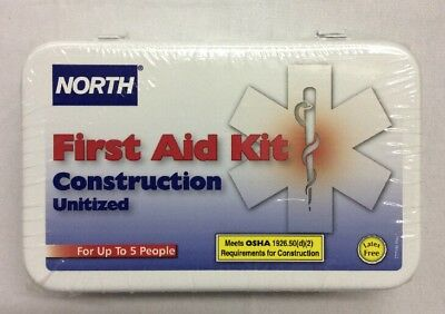 North by Honeywell Construction Unitized First Aid Kit 019729-0016L