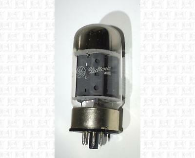 General Electric GE 6550A 6550 Vacuum Tube USA Tested Gray Plates White Label