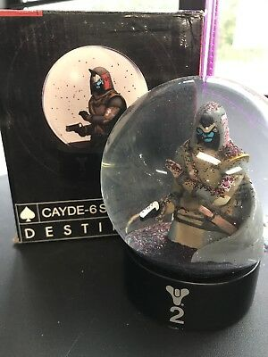 4ea7cd774f0 Bungie Destiny 2 Cayde-6 Collector's Snow Globe 1 of 5000 Limited Edition