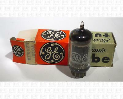 General Electric GE 12AX7A 7025 12AX7 Vacuum Tube USA NOS White Label +Box