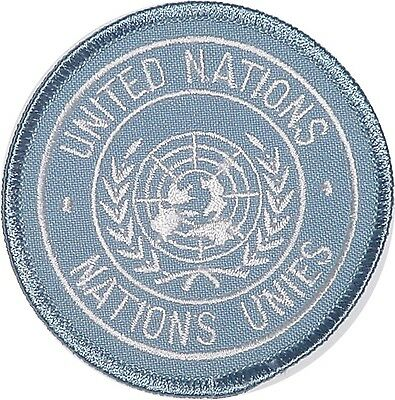 UN Aufnäher Patch United Nations Nations Unies ...........A2021