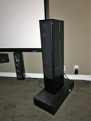 Martin Logan Motion 40 Floor Standing Pair Of Speakers In Piano Black Perfect