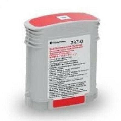 pitney bowes 787-0 red cartridge