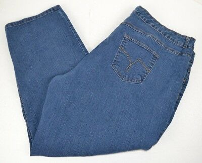 d20cf5a1269 JMS Just My Size Women s Plus Size Stretch Classic Denim Blue Jeans 26W  SHORT