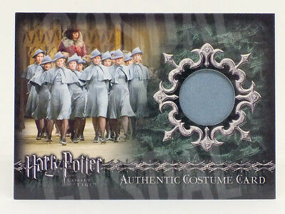 Harry Potter Goblet of Fire Beauxbatons Students Costume Card HP C7 #393/800