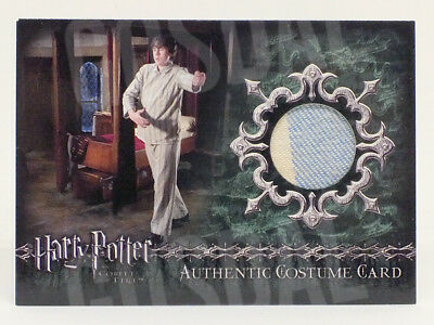 Harry Potter Goblet Fire Neville's Pajamas Costume Card HP C9 #489/900