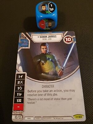 Star Wars Destiny #33 Kanan Jarrus - Empire at War