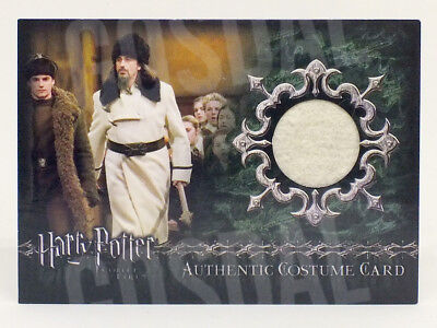 Harry Potter Goblet of Fire Update Igor Karkaroff Costume Card HP C9 #557/850