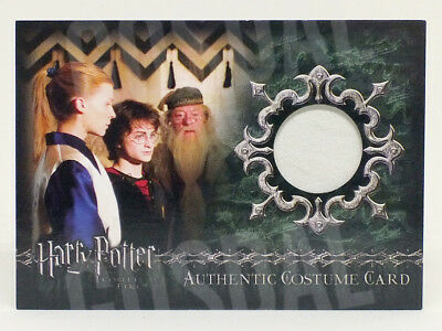 Harry Potter Goblet Fire Update Fleur Delacour Costume Card HP C10 #0115/1025