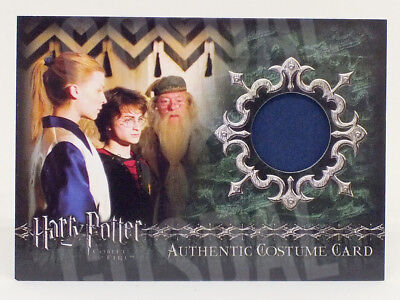 Harry Potter Goblet Fire Update Fleur Delacour Costume Card HP C10 #0162/1025