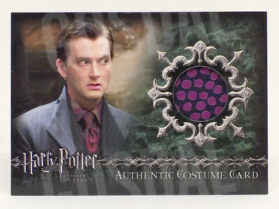 Harry Potter and the Goblet of Fire Barty Crouch Costume Card HP C11 #623/800