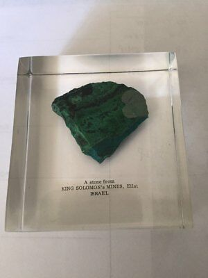 Actual Eliat Stone From King Solomon's Mines In Israel
