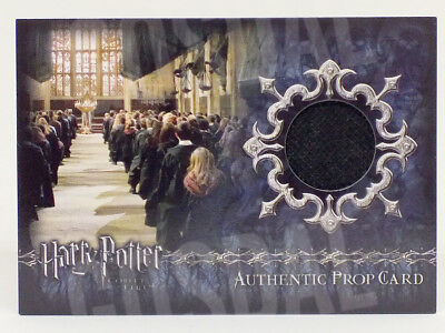 Harry Potter and the Goblet Fire Update Memorial Banner Prop Card HP P2 #164/355