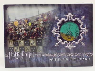 Harry Potter Goblet Fire Update Stadium Banners Prop Card HP P7 #164/425