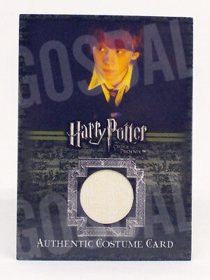 Harry Potter and the Order of Phoenix Ron's Shirt Costume Card HP C2 #483/560