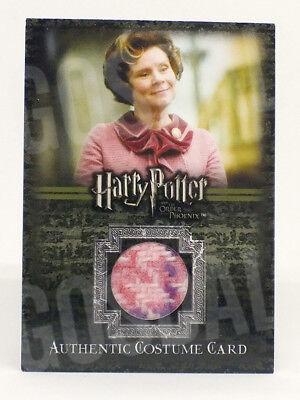 Harry Potter Order of Phoenix Dolores Umbridge Costume Card HP C10 #548/660