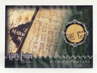 Harry Potter and the Prisoner of Azkaban The Marauder's Map Prop Card #244/500