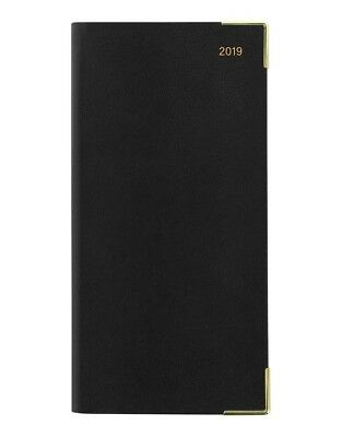 Letts Classic Slim 2019 Month to View Diary, Black, Postage Included