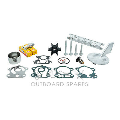 Yamaha Annual Service Kit with Anodes for 90hp 2 Stroke Outboard