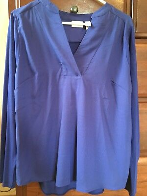 27fff08ae532ff Chicos Lot Of 2 Pieced Quincy Tops Size 2 NWT Carbon Blue And Mallard Teal