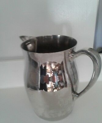 Sheffield Silver Co by Reed & Barton Silverplate Water Pitcher With Ice Catcher