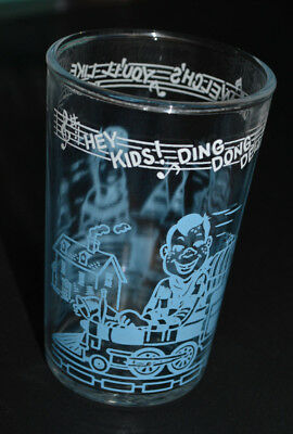 "Welch's Howdy Doody Glass (cr 1953), ""Ring For Welch's You'll Like It Swell"""