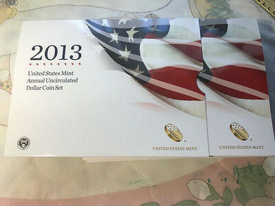 2013-W US Mint Annual Uncirculated Dollar 6-Coin 05 SetS