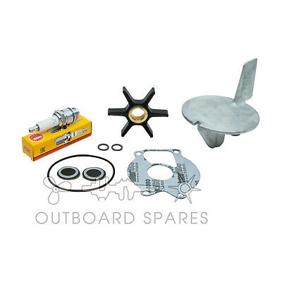 Mercury Mariner Annual Service Kit with Anodes for 20, 25hp 2 Stroke Outboard