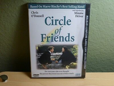 Circle of Friends (DVD, 1998, Widescreen) Chris O'Donnell Minnie Driver New OOP!