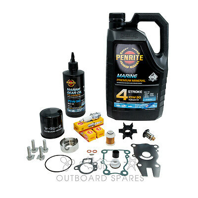 Yamaha Annual Service Kit with Oils for 50hp 4 Stroke Outboard