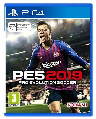 Pes 2019 Videogioco Ps4 Gioco Pro Evolution Soccer 2019 Play Station 4 Italiano
