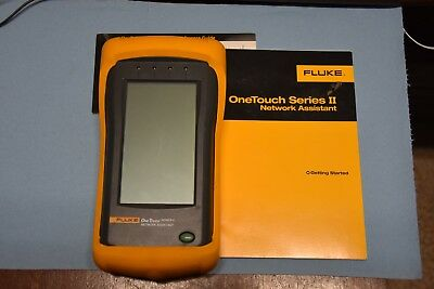 Fluke OneTouch Sereis II Network Assistent Fluke Networks with case and manual